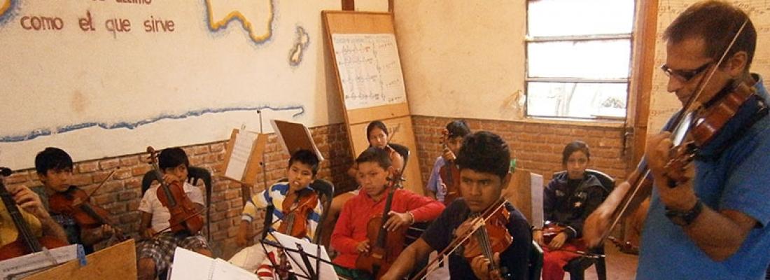 Festival di arte e musica in S. Rosa de Cuevo (Bolivia) 3
