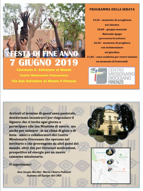 Festa di Fine Anno - 7 Giugno 2019