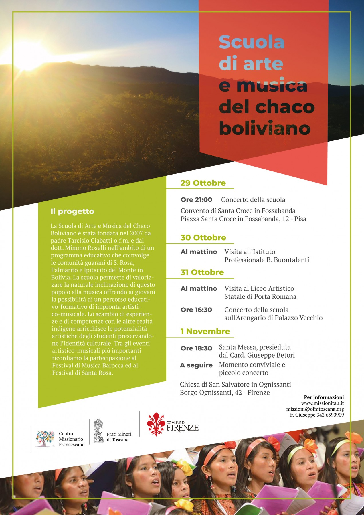 Scuola di arte e musica del chaco boliviano