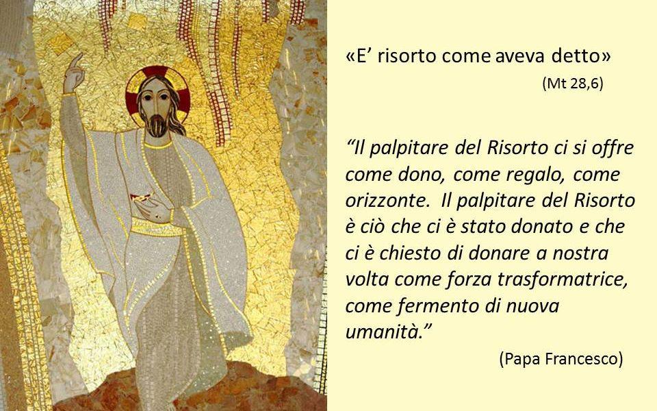 Uniti nella preghiera per vivere la Pasqua 1